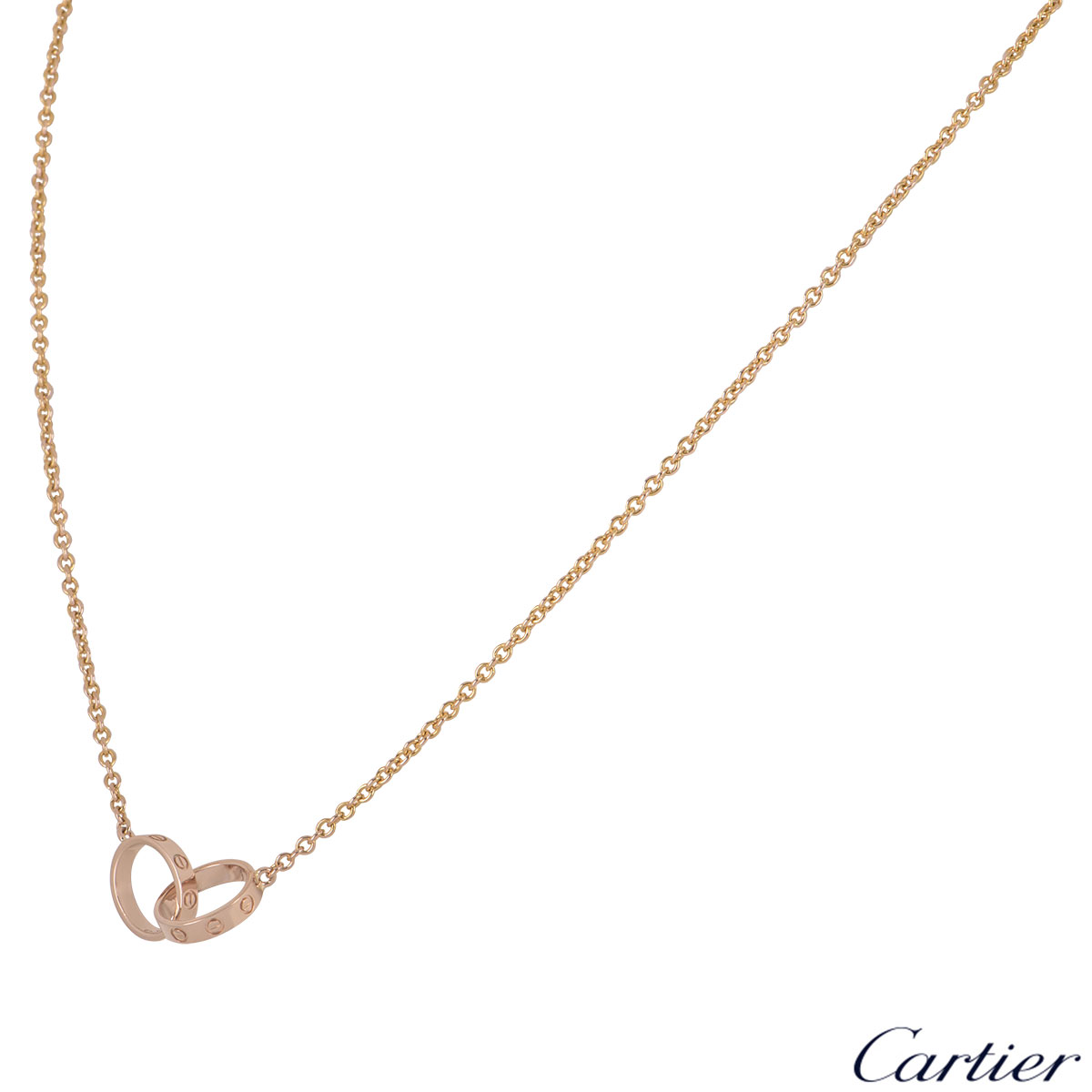 Cartier Rose Gold Love Necklace B7212400